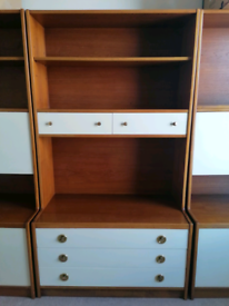 1970s Furniture - Wall Unit, Sideboard. Reduced from £80 to £50
