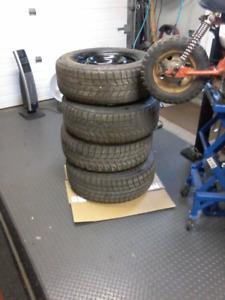"""16"""" Rims and Winter Tires  235 65 R16"""