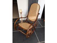 Beautiful bentwood rocking chair