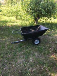 DUMP CART for garden tractor