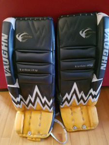 """Vaughn velocity 30"""" pads and RBK 8k int blocker and trapper."""