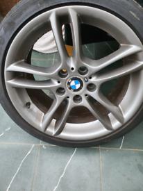 "Bmw 1 series 18"" alloy wheels"