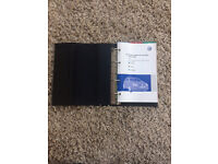 VW Golf Owners Manual (Reduced)