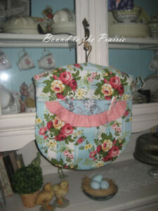 Vintage Embroidery Lingerie/Laundry Bags!~NEW &Handmade! SWEET!