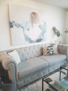 High-End Couch, less than a year, barely used