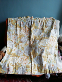 3 lovely floral curtains