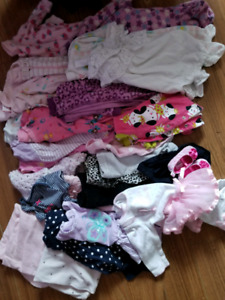 Baby Girl lot 0-3 months (fits approx 8lbs-12lbs first 2 months)