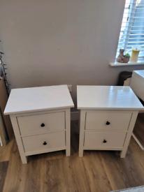 Ikea Hemnes Bedside Tables