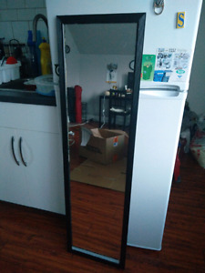 Black Floor Length Mirror