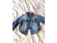 Baby girl 3-6 mth Next denim jacket