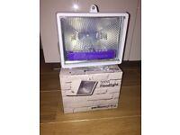 BNIB 2 X Pentium Outdoor Security Floodlight