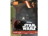 Darth Vader talking head new in box large