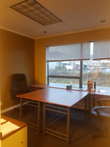 3 offices for rent on second floor