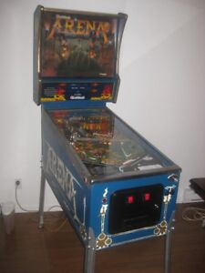 Machine à boule reconditionnée pinball arcade