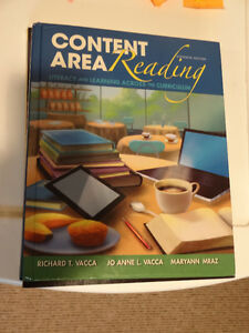 Content Area Reading Literacy and Learning Across Curriculum