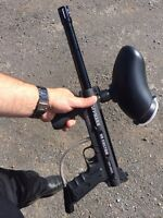 Marqueur gun paintball tippmann custom 98 semi automatique