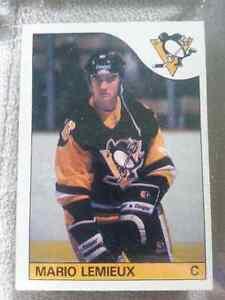 1985-86 Mario Lemieux Rookie Card
