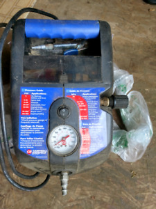 Air Compressor and portable air tank