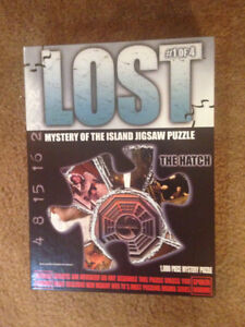 From TV show, Lost jigsaw puzzle