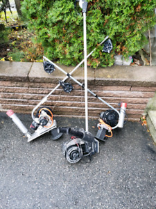 3 electric downriggers and 2 manual for sale