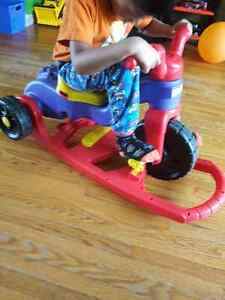LEARN TO PEDAL TIKES CONVERTABLE TO ROCKER Kitchener / Waterloo Kitchener Area image 7
