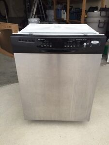 Stainless Steel Whirlpool dishwasher needs a sensor