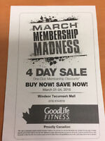 March Madness Deal at GoodLife!!!!!! ENDS THURSDAY