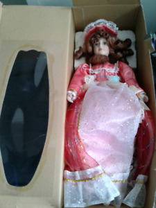 Fibre optic porcelain doll