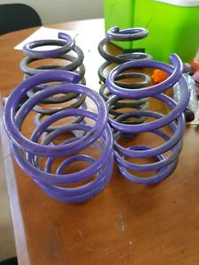Lowerings springs D2 2 pouces. 1 mois dutilisation