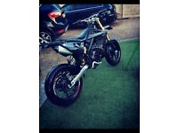 Rieju MRT Pro 50 sm black edition with big bore 90cc kit