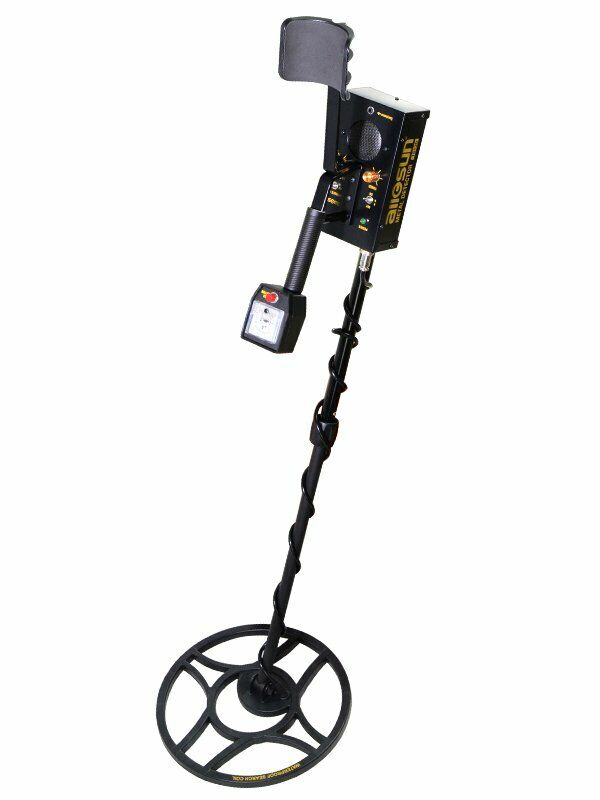 Metal Detector Hunter Ground Coin Finder Searcher Treasure Gold Silver Digger
