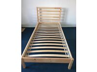 Single ikea bed for sale