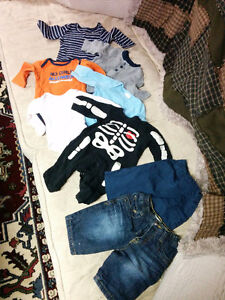 0-3 month clothes - male