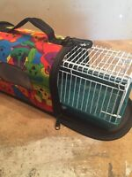 Travel Size Hamster Cage and Carrier