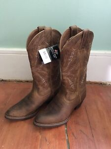 Justin silver BRAND NEW cowboy boots