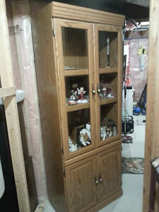 LIKE NEW WALL UNIT WITH LIGHT