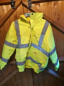 Water proof work jacket size medium brand new £5