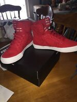 Supra shoes, size 8 in men's.