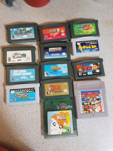 My brother is selling 13 gameboy games