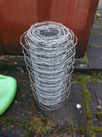 Galvinised fencing