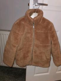 River Island Teddy bear coat, age 5-6 years