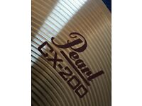 "Pearl CX-200 crash cymbal 16"" plus stand"