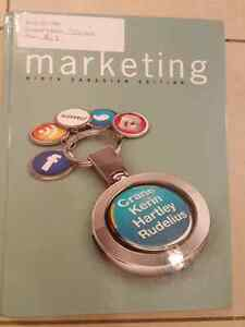 Marketing ninth Canadian edition , Business books