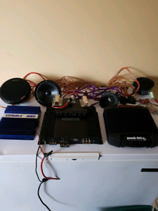 Stereo equipment for sale (Price negotiable on individual parts)