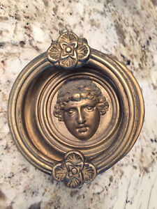 Original door knocker from 1912 home