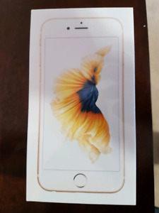 SEALED BOX IPHONE 6S 32GB UNLUCK GOLD AND SKY GREY