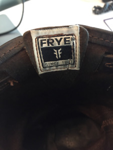 Brown Frye Engineer Boots - Size 9