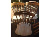 Farm house style Table & Chairs