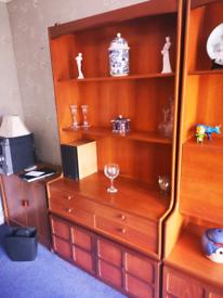 Wall units dressers bureau cabinet retro vintage
