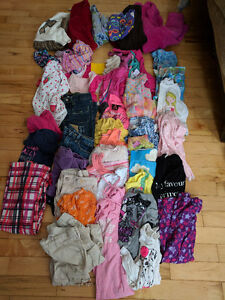 Lot of girls 4T clothing